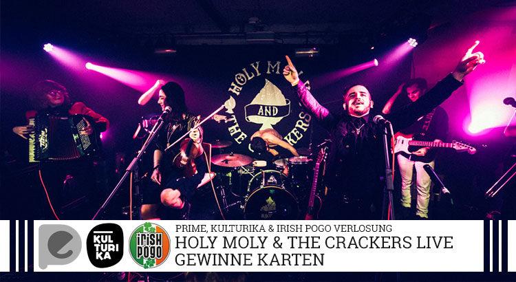 Holy Moly The Crackers Verlosung Konzertkarten