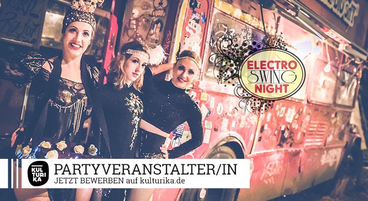 Electro Swing Night Partyveranstalter/in Job Köln