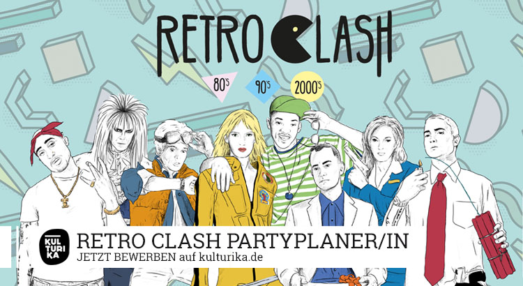 Retro Clash Partyplaner Veranstalter Job Köln