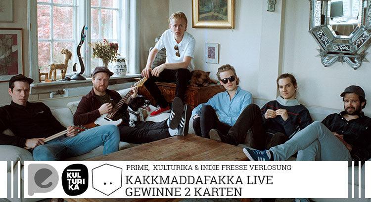 Verlosung Tickets Kakkmaddafakka Live Music Hall 03-02-2018 Gästeliste