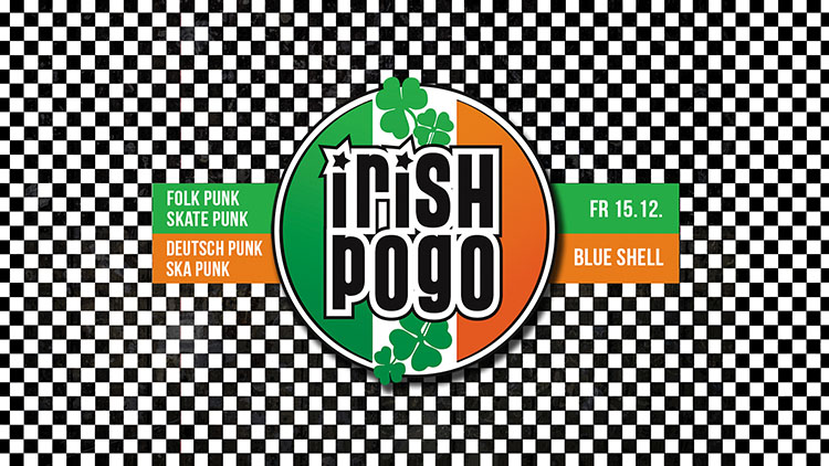 Irish Pogo - Die Punkrock Party im Blue Shell Köln am 15.12.2017