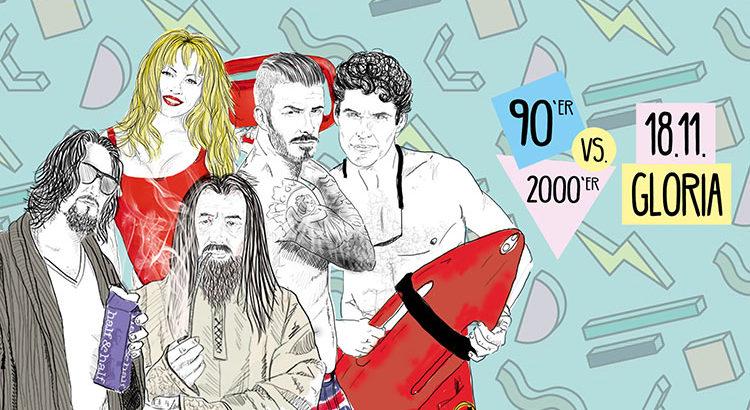 Retro-Clash 90er 2000er Party Koeln 18-11-2017 Gloria Theater