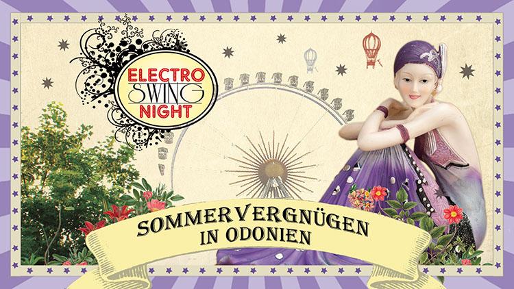 Electro Swing Night Sommervergnügen Odonien Köln 28-07-2017