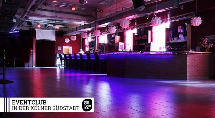 eventlocation k ln eventclub in der k lner s dstadt. Black Bedroom Furniture Sets. Home Design Ideas