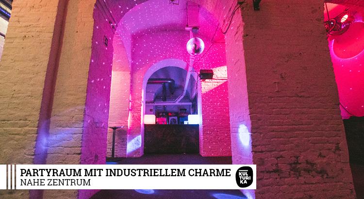 EVENTLOCATION KÖLN – Partyraum mit industriellem Charme