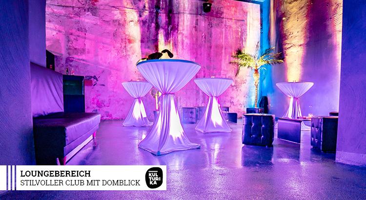 Club Köln - Stilvoller Club mit Domblick Köln