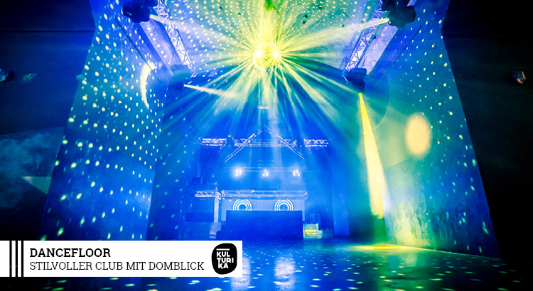 Stilvoller Club mit Domblick Köln