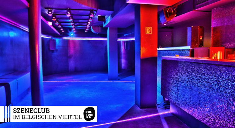 Szeneclub im belgischen Viertel Köln