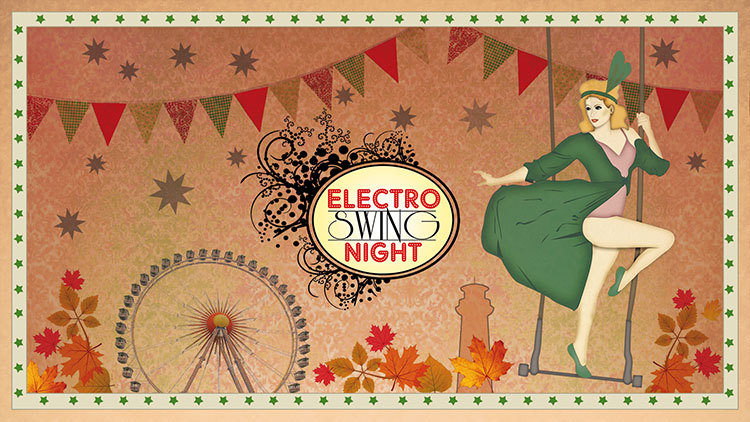 Electro swing night herbstvergn gen im helios37 k ln am 02 for Praktikum grafikdesign