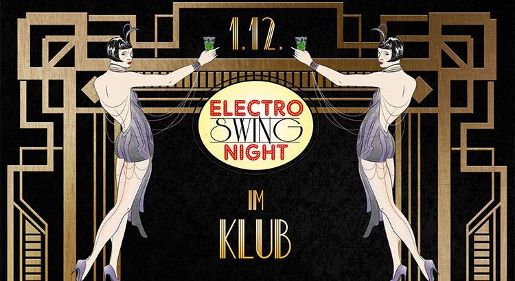 Electro Swing Night im KLUB Wuppertal am 01.12.2017