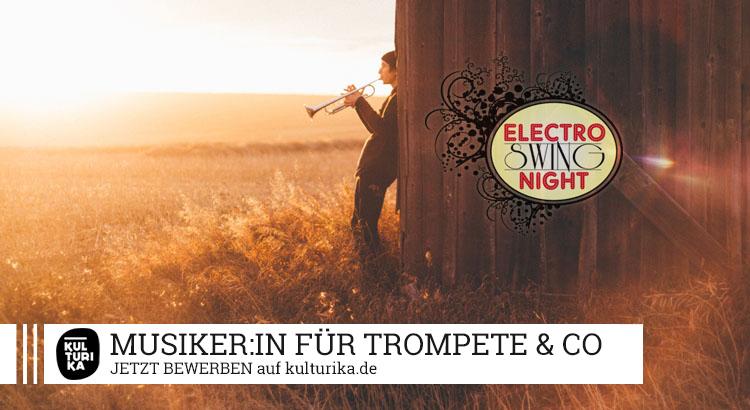 Electro Swing Night Musiker/in & Sänger/in Köln gesucht - Trompete-Geige-Klarinette-Saxophon