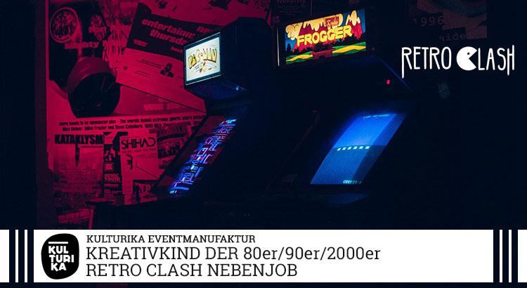 Retro Clash Kreativteam Texter Nebenjob Köln - Kind der 80er-90er-2000er gesucht
