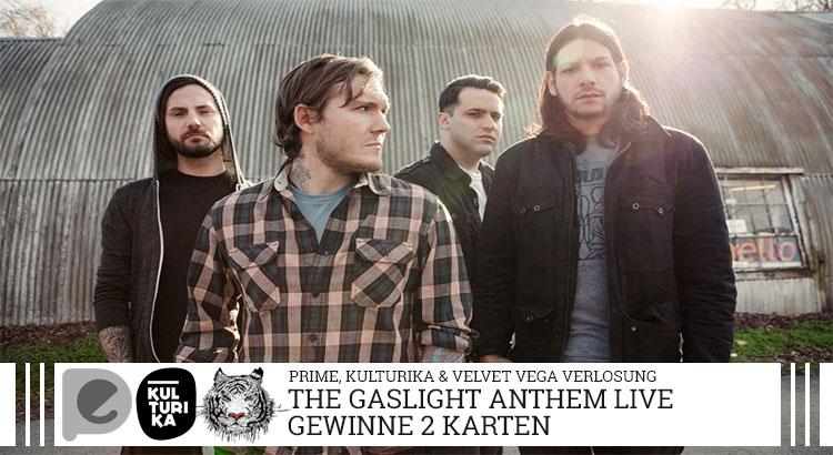 The Gaslight Anthem-Verlosung-Konzertkarten