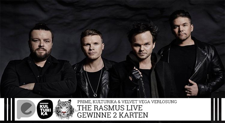 The Rasmus- Verlosung-Konzertkarten