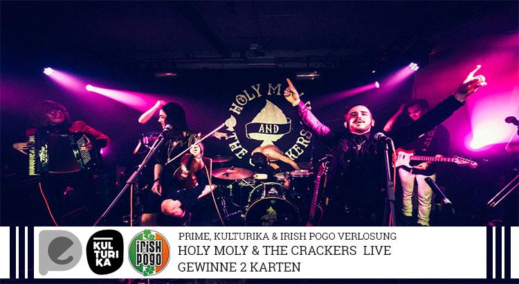 Holy Moly & The Crackers- Verlosung-Konzertkarten