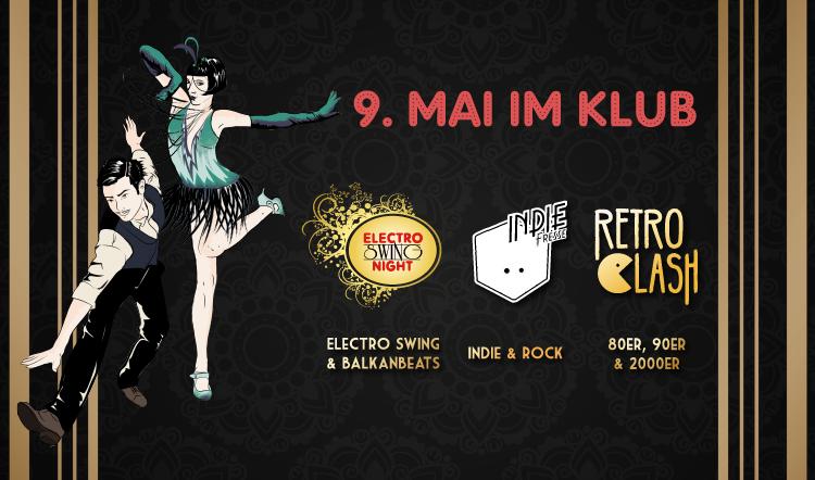Electro Swing Night feat. Indie Fresse & Retro Clash im KLUB Wuppertal
