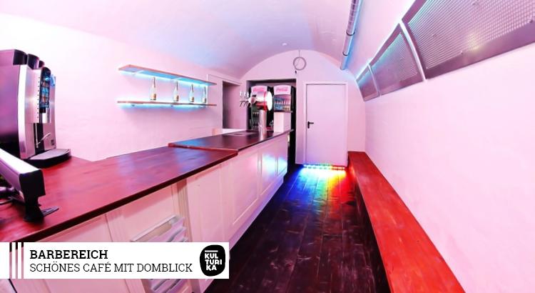 PARTYRAUM KÖLN - Café mit Domblick