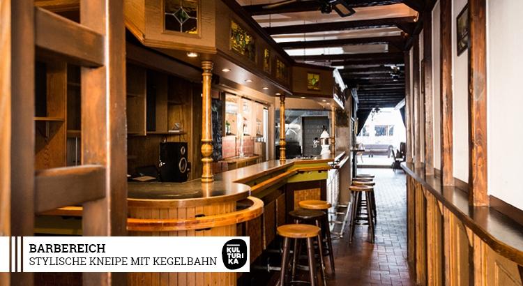Kneipe Köln Zentrum - Stylische Kneipe mit Kegelbahn