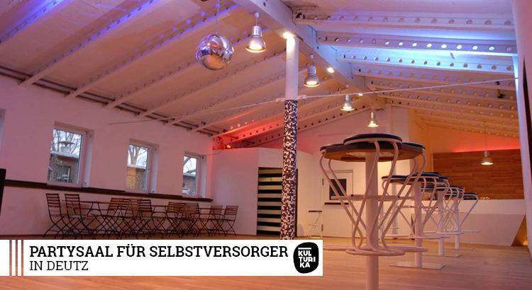 Partysaal für Selbstversorger in Deutz