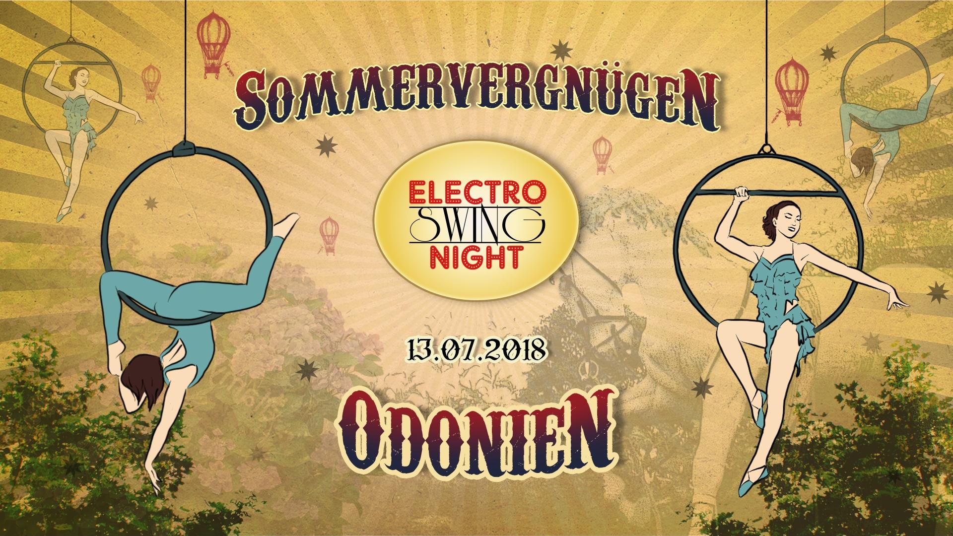 Electro Swing Night Sommervergnügen Odonien 13.07.2018