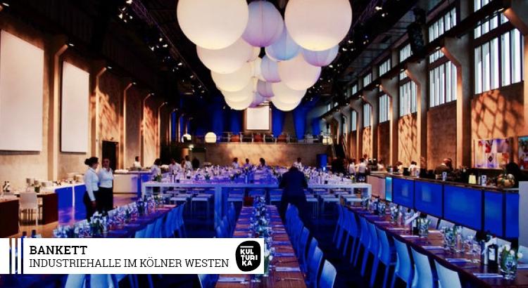 Industriehalle im Kölner Westen