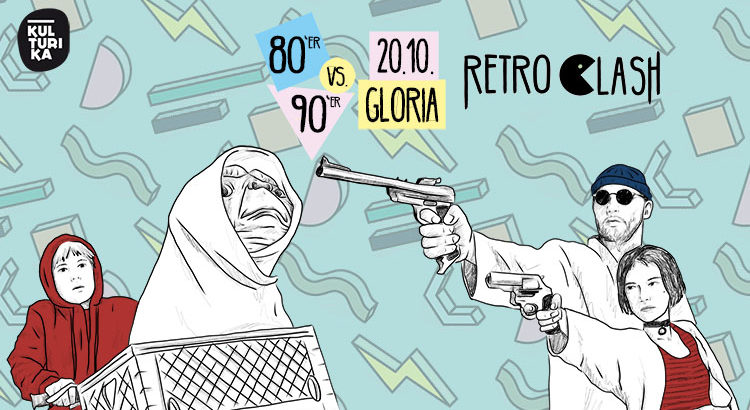 Retro Clash Köln Gloria 80er vs. 90er Party 20.10.2018