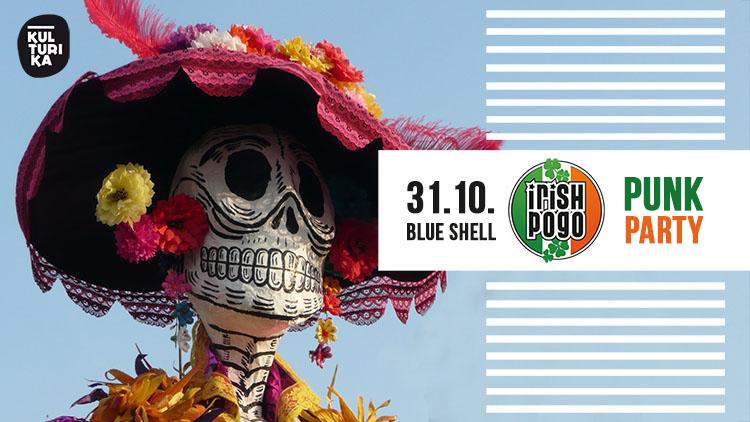 Irish-Pogo-Punkparty-Halloween-Koeln-31-10-2019-Blue-Shell