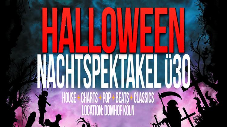 Halloween Nachtspektakel Ü30