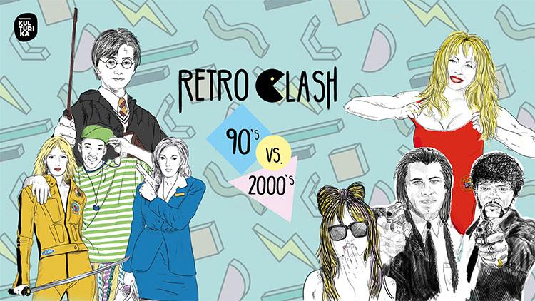 Retro Clash 90er 2000er Party Köln Gloria 02-02-2019
