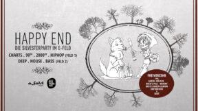 Happy End Silvesterparty e-feld Köln 31-12-2018