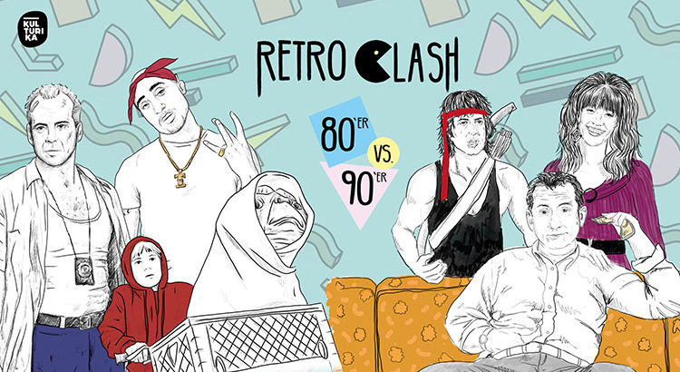 4 Jahre Retro Clash 80er 90er Party Köln Gloria 01-06-2019