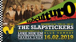 subculturo Reggae Ska Dancehall Party Konzert Köln 16-02-2019 im Domhof mit The Slapstickers, Luke Nuk'Em, Chanta Crew, Blockbuster Sound, I Three Generation Hifi
