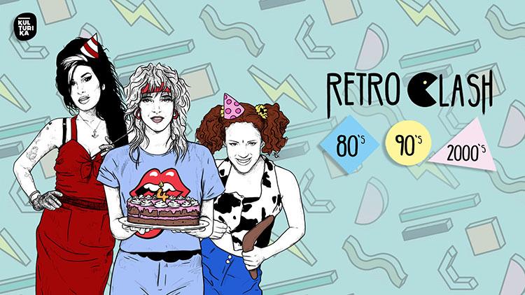 4 Jahre Retro Clash 80er 90er 2000er Party Köln Gloria Theater 01-06-2019