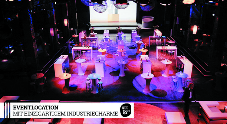 Große Eventlocation mit einzigartigem Industriecharme in Köln mieten