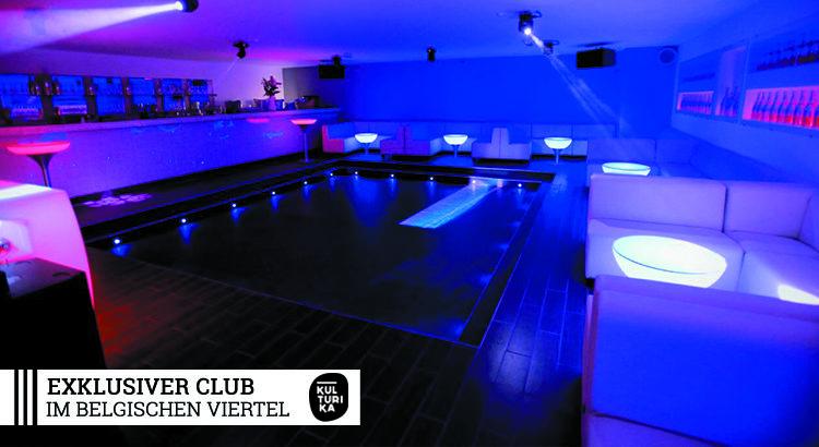 Exklusiver Club im Belgischen Viertel