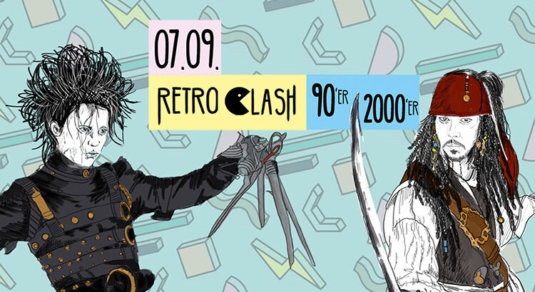 Retro Clash 90er 2000er Party im Gloria Theater Köln 07.09.2019