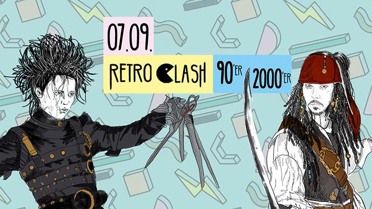 Retro Clash 90er 2000er Party im Gloria Theater Köln 07.09.2019