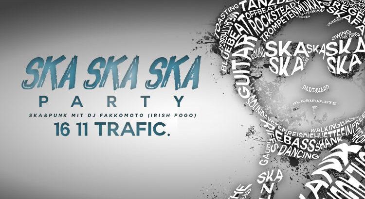 Ska Ska Ska Party Köln im Club trafic 16-11-2019