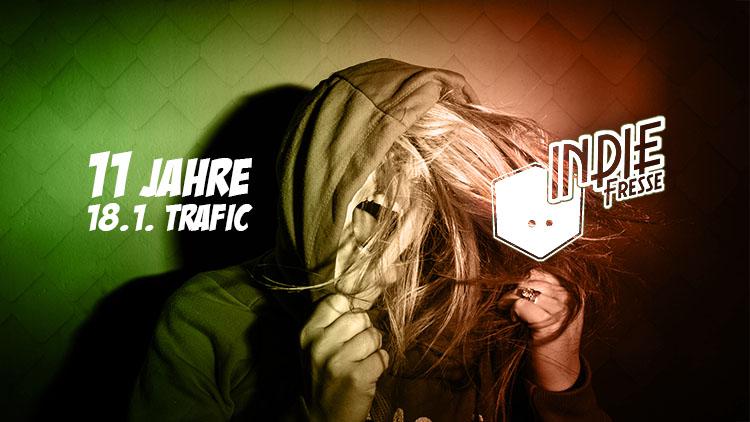 11 Jahre Indie Fresse Party 18-01-2020 Club trafic Köln