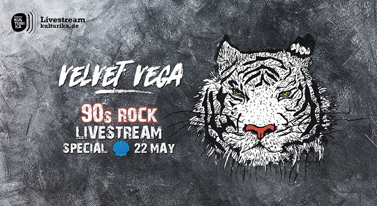 Velvet Vega 90s Rock Livestream Köln 22-05-2020 Blue Shell