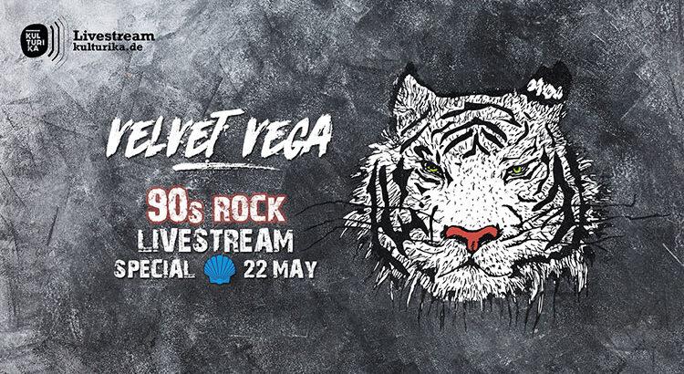 Velvet Vega 90s Rock Livestream Köln 22-05-2020 Blue Shell