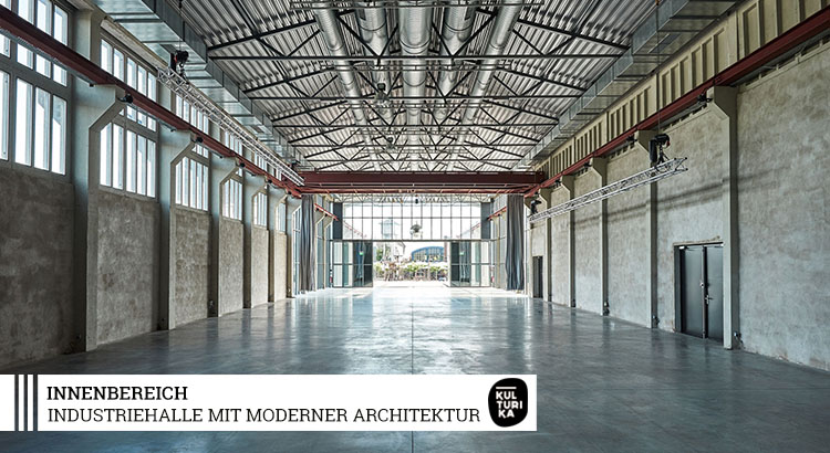 Eventlocation Köln mieten - Industriehalle mit moderner Architektur