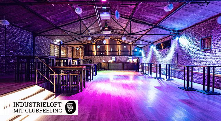 Eventlocation Köln - Industrieloft mit Clubfeeling mieten
