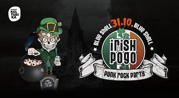 Irish Pogo Punk Halloweenparty Köln 31-10-2020 Blue Shell