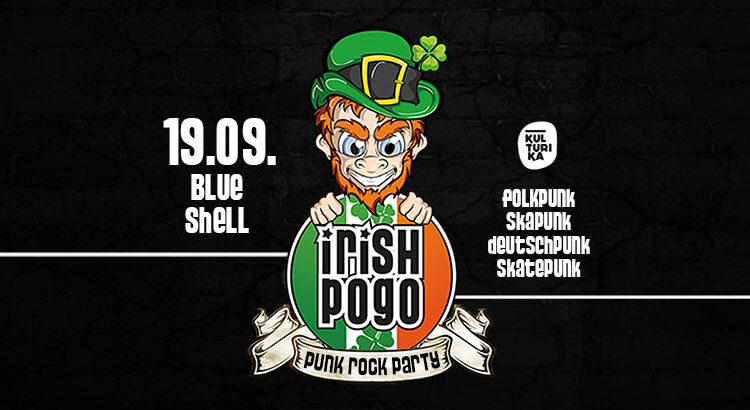 Irish Pogo Punkparty 19.09.2020 Blue Shell Koeln