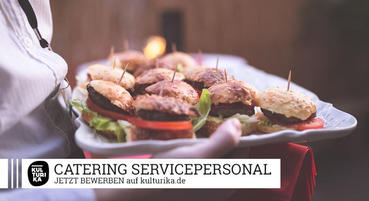 Kulturika Jobs Köln Catering Servicepersonal gesucht