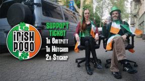 Irish Pogo Supportticket & Kulturspende Köln