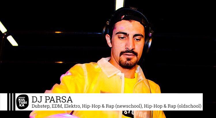 Kulturika DJs Köln präsentiert Köln DJ Parsa buchen