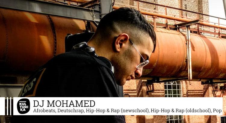 Kulturika DJs Köln präsentiert Köln DJ Mohamed buchen