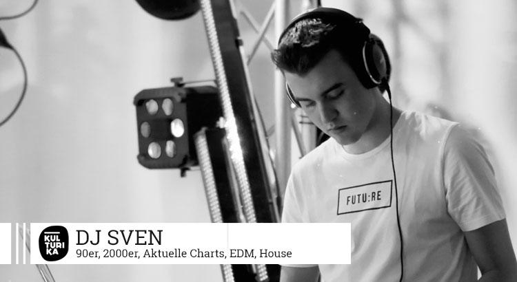 Kulturika DJs Köln präsentiert Köln DJ Sven buchen